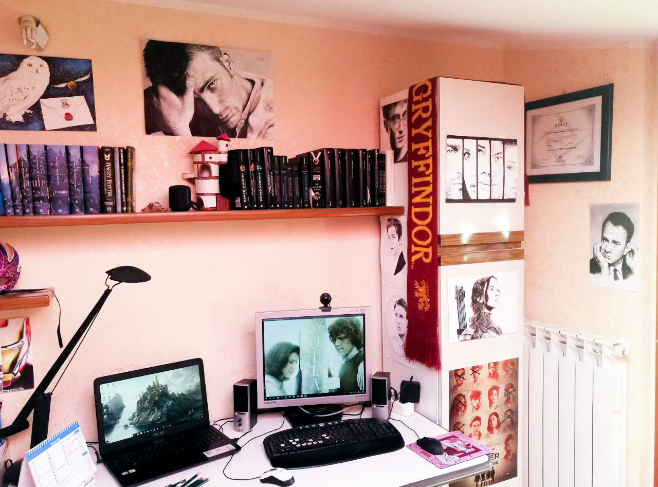 Camera Da Letto Stile Harry Potter : Vi presento la mia cameretta the best of my bedroom sara scrive