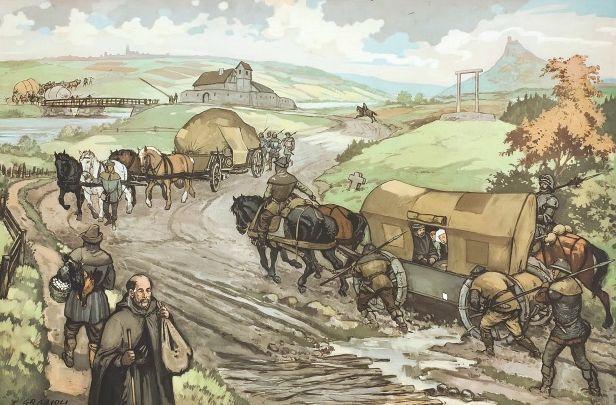 Viaggiare nel Medioevo