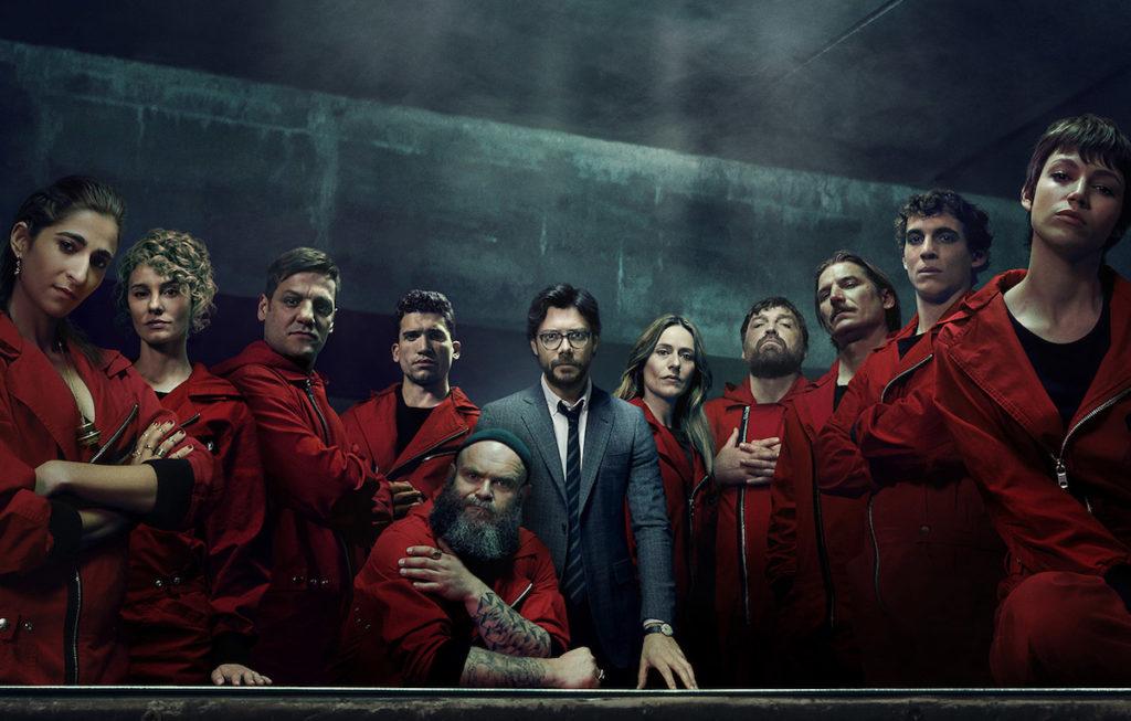 Sei pronto a vedere la terza stagione della Casa di Carta?