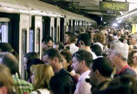 Metropolitana: quando viaggiare è come ritrovarsi in uno zoo