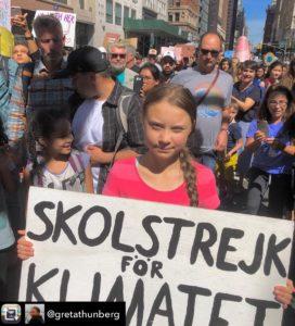 Greta Thunberg - School Strike New York Citi (20/09/19)