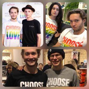 """""""CHOOSE LOVE"""" - Toby Regbo e... Jamie Bower, Millie Brady, Simon Amstell"""