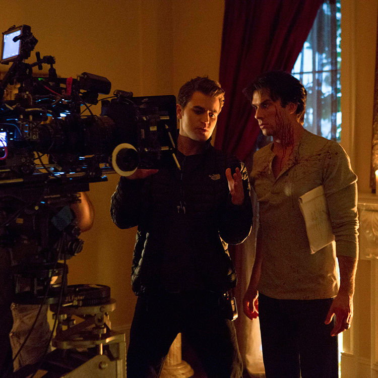 The Vampire Diaries: Paul as a director