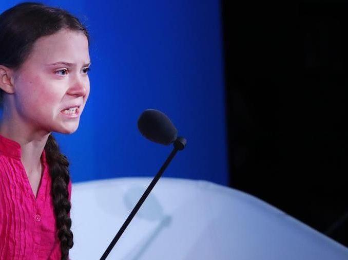 Le lacrime di Greta Thunberg all'ONU