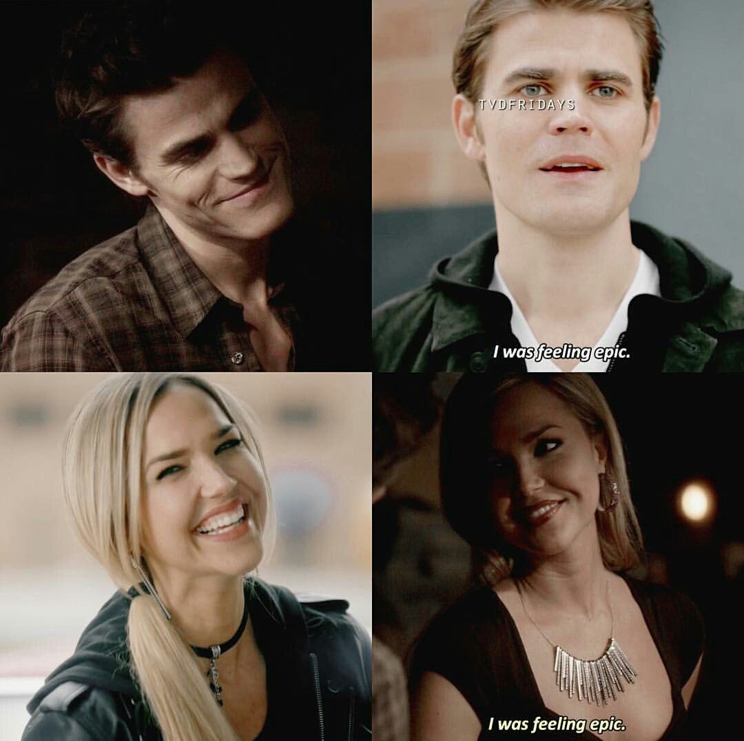 The Vampire Diaries: I was feeling epic