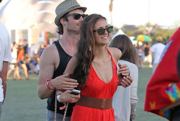 The Vampire Diaries: Ian e Nina al Coachella