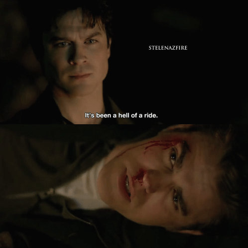 The Vampire Diaries: it's been a hell of a ride