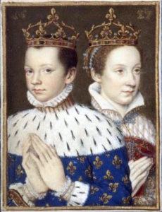 Francesco II (Re di Francia) e Maria Stuarda (Regina di Scozia)