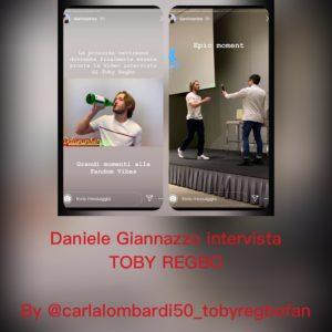 Toby Regbo intervista Milano La video intervista di Toby Regbo è quasi pronta