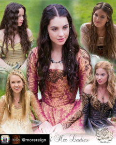 """Instagram - Post di """"MoreReign"""" (7 febbraio 2016) - Mary and Her Ladies, Season 1"""
