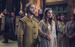 "Toby Regbo e Millie Brady - Aethelred e Aethelflaed in ""TLK"""