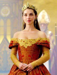 "Mary Stuart in ""Reign"" - interpretata da Adelaide Victoria Kane"