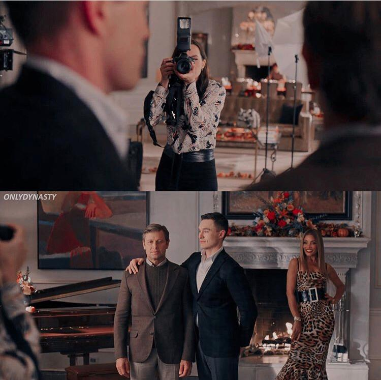 Dynasty 3x07: Adam, Blake e Dominique
