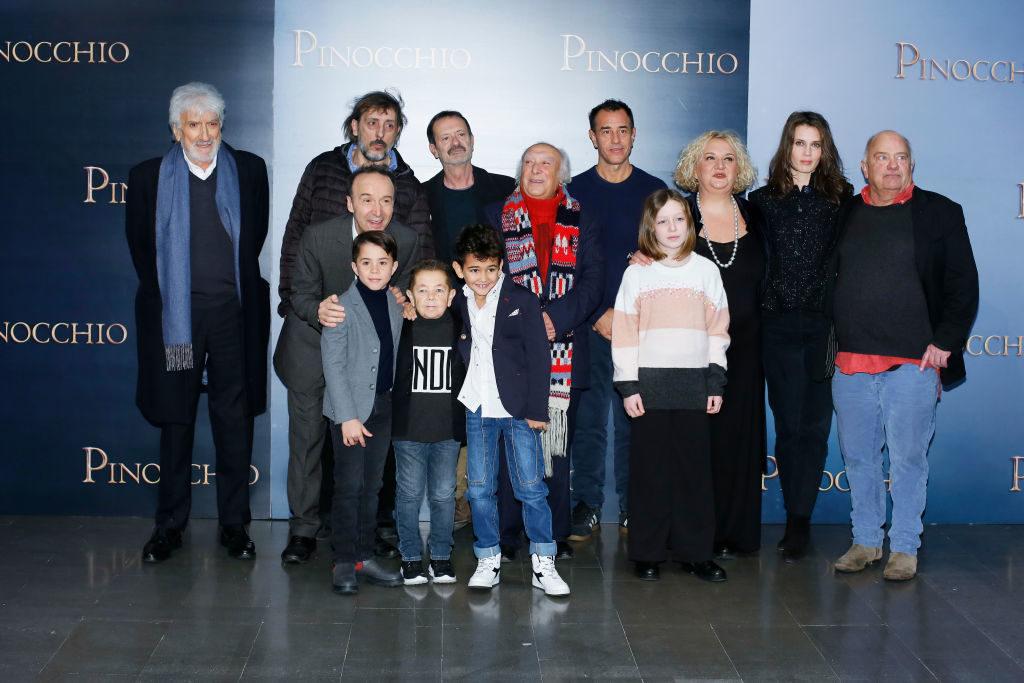 Pinocchio - il film: il cast