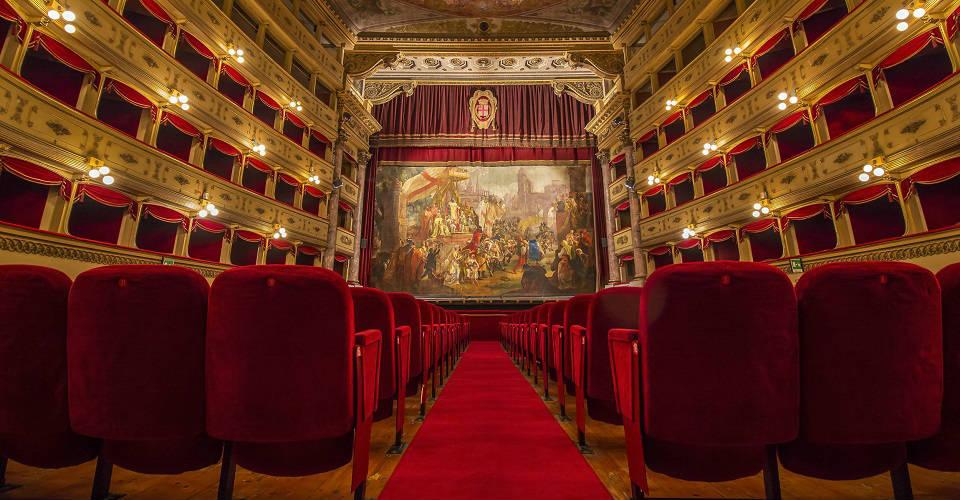 Interno Teatro Sociale Mantova