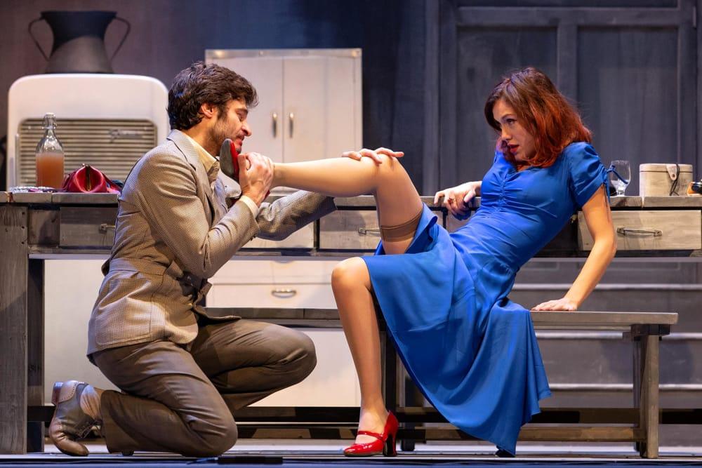 After Miss Julie: Lino Guanciale e Gabriella Pession