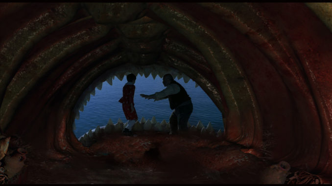 Pinocchio - il film: Pinocchio, Geppetto e la balena
