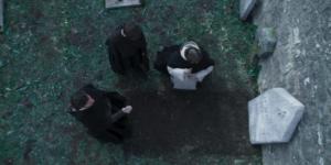 """""""I Medici 3"""" – Ep. 7 (Piero incontra Savonarola sulla tomba di Tommaso)"""