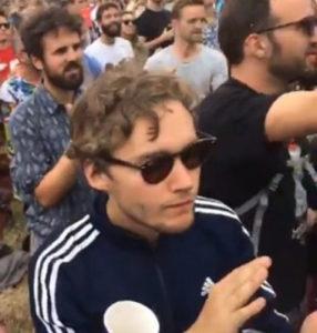 Toby Regbo - Glastonbury Festival (2017)