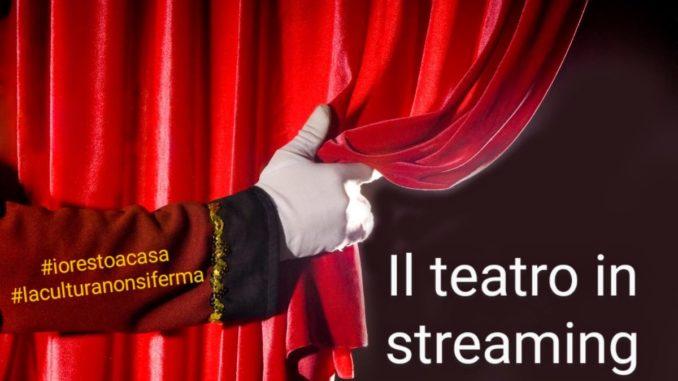 Teatro in streaming