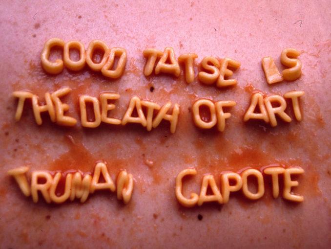 Il buon gusto e il politicamente corretto sono la morte dell'arte