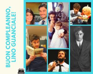 compleanno Lino Guanciale
