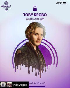 Toby Regbo: waiting DIAH2... Toby Regbo conferma la sua partecipazione a DIAH2 (Mio account - Instagram)
