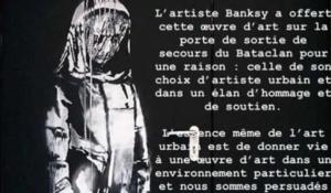 "Banksy - ""Ragazza triste"" (Bataclan)"