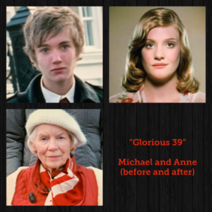 "Toby Regbo: ""Glorious 39"". Michael (today) - Anne (yesterday and today)"