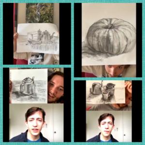 Toby Regbo: disegna! Altri elaborati - Vegetali e oggetti vari