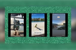 Toby Regbo - Instagram Story (25 e 26 agosto)
