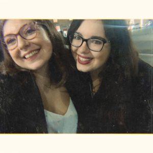 Sofia & Alessandra, le amministratrici della fanpage Lino Guanciale Italia