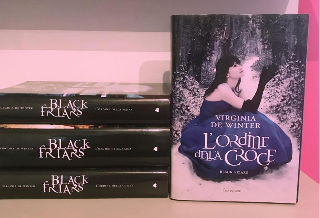 Blackfriars – L'ordine della croce di Virginia De Winter |Recensione