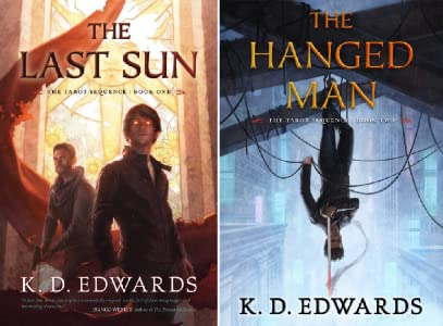 The Tarot Sequence by K.D. Edwards, my brand new favorite urban-fantasy series
