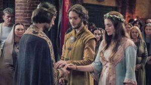 Aethelred e Aethelflaed si sposano - Un dolce inizio, poi... (TLK 2 - Toby Regbo e Millie Brady)