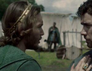 Toby Regbo: TLK 4.04. Toby Regbo e Jamie Blackley – Aethelred e Eardwulf in TLK 4