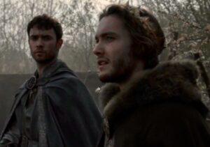 Toby Regbo: TLK 4. Toby Regbo e Jamie Blackley - Aethelred e Eardwulf in TLK 4