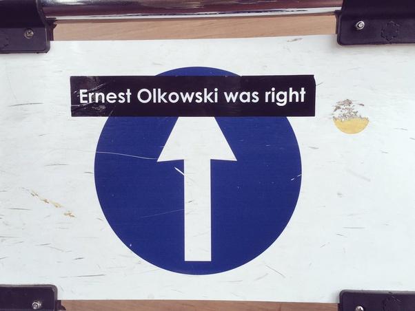 Ernest Olkowski was right: il mistero del 2024
