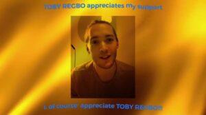 Toby Regbo (Mio instagram)