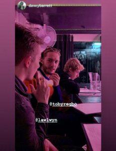 Toby Regbo: DIAH5. (4) Toby Regbo e fratelli (Aprile 2019 - New York)