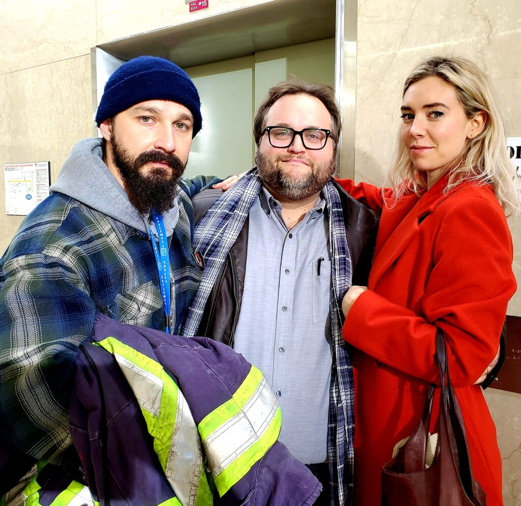 Pieces of a woman: Shia LaBeouf (Sean), Kornél Mundruczó (il regista) e Vanessa Kirby