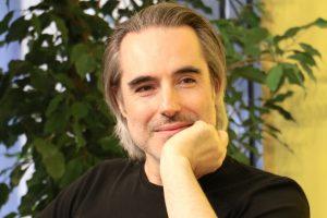 Matteo Bussola, autore di Viola e il Blu